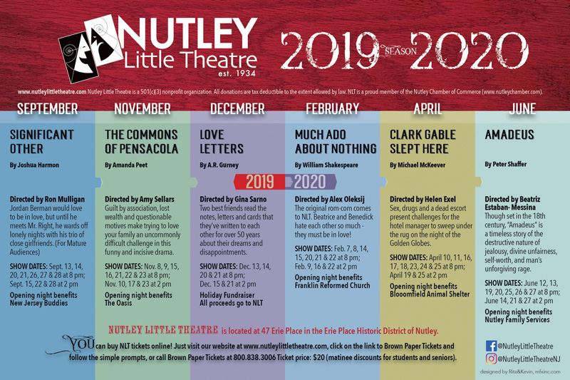 Performing Arts Theater, Plays, Auditions | Nutley Little